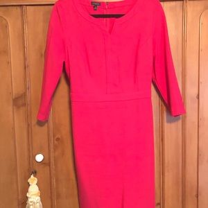 Talbots pink SZ 10 dress